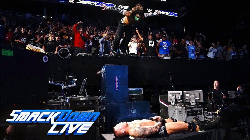 Photo of Jeff Hardy vs. Randy Orton: SmackDown LIVE, Aug. 21, 2018
