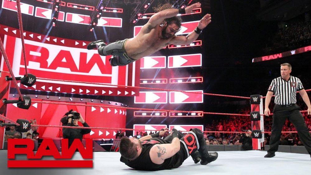 Photo of Seth Rollins vs. Kevin Owens – Intercontinental Champioship Raw Aug27,2018