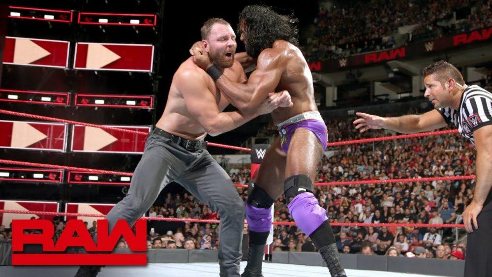 Photo of Dean Ambrose vs. Jinder Mahal: Raw, Aug. 27, 2018