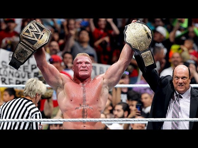 Photo of John Cena vs. Brock Lesnar – WWE World Heavyweight Championship Match – Summerslam 2014