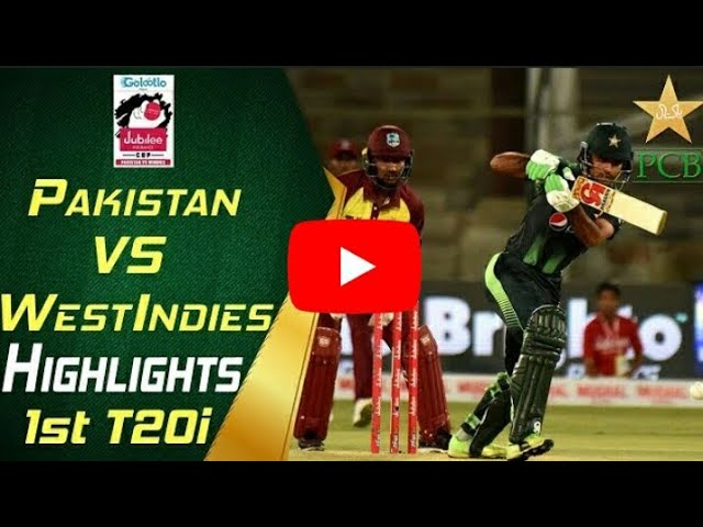Photo of Highlights | 1st T20i | Pakistan Vs Windies 2018