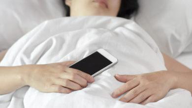Photo of موبائل فون کو سوتے ہوئے دور رکھنا تندرستی کی ضمانت
