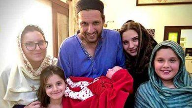 Photo of شاہد آفریدی کے گھر 5 ویں بیٹی کی ولادت